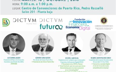 Futurae organiza en Puerto Rico la jornada «Blockchain y otras tecnologías disruptivas. La ventaja competitiva para el emprendimiento y la transformación digital»