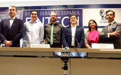 El socio de Futurae Vicente García Gil participa en en el II Foro Fintech de «El Español»