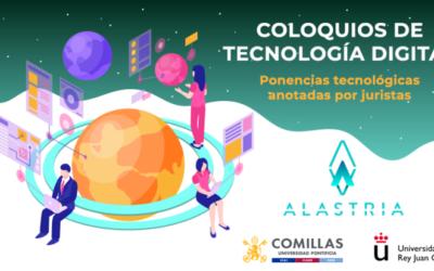 Vicente García Gil y Ricardo Palomo, en los Coloquios Alastria de Tecnología Digital