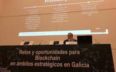 El ECO de Galicia de Alastria, coordinado por Juan Carlos Rodríguez Maseda, presenta los retos y oportunidades de blockchain en los ámbitos estratégicos de la región