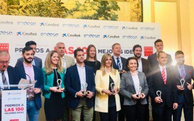 Ricardo Palomo recibe el premio a las «100 mejores ideas del año» por una app de conectividad