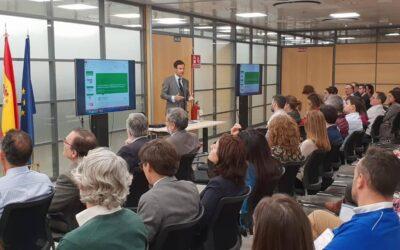 Vicente García Gil ofrece una conferencia sobre el uso de smart contracts para la prevención del blanqueo de capitales en el SEPBLAC