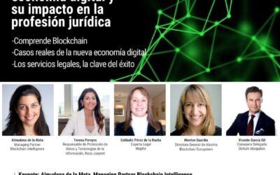 Vicente García Gil, ponente del «Blockchain & Legal: economía digital y su impacto en la profesión jurídica»